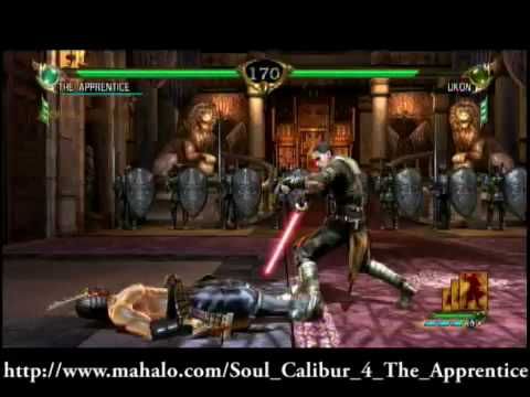 Soul Calibur 4 - The Apprentice Story Playthrough