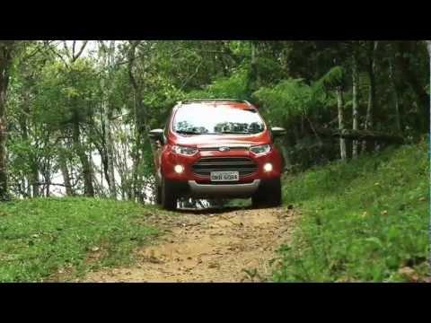 Novo Ford EcoSport 4WD com tração 4x4