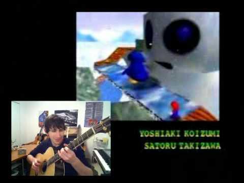Mario 64 Credits Theme w/ ACOUSTIC GUITAR!!!