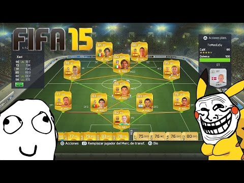 ���QUER���IS QUE SUBA FIFA 15 ULTIMATE TEAM? ROAD TO PRO! XD