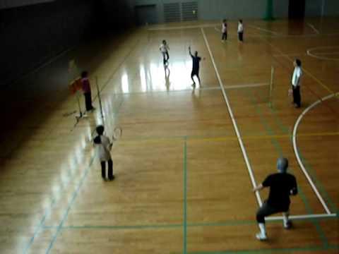 マンデースマイル・スポンジテニス練習ゲーム2010_0607.wmv