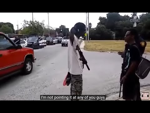 How NOT to OPEN CARRY in PUBLIC: San Antonio, Texas [HD]