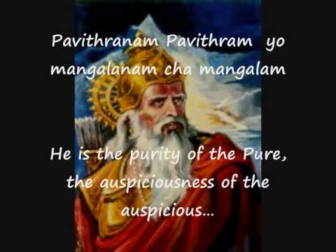 Sri Vishnu Vishnusahasranamam Part 1 of 4 - with English Subtitles...