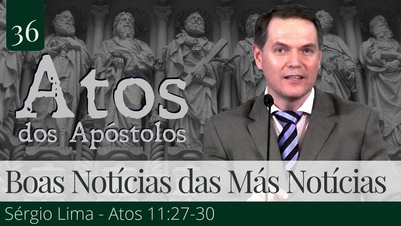 37. As Boas Notícias das Más Notícias - Sérgio Lima