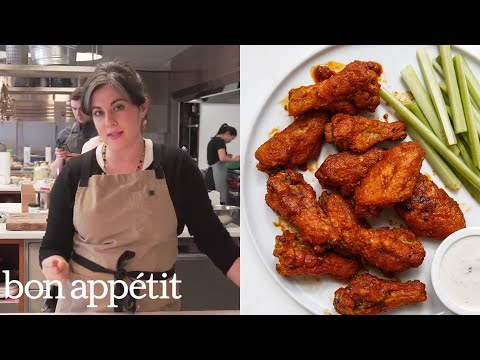 Claire Makes Buffalo Wings | From the Test Kitchen | Bon Appétit