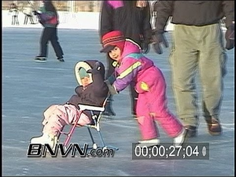 1/19/2003 Minneapolis, MN Ice Skating Video