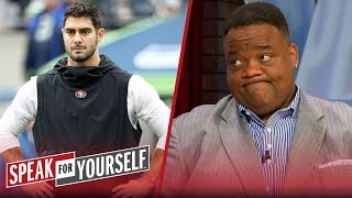 Jimmy G's lottery contract might bankrupt him as a franchise QB -Whitlock | NFL | SPEAK FOR YOURSELF