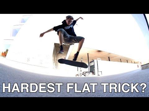 Rodney Mullens Hardest Flatground Trick Challenge