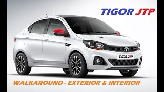 Tata Tigor JTP!! Walkaround - Exterior & Interior