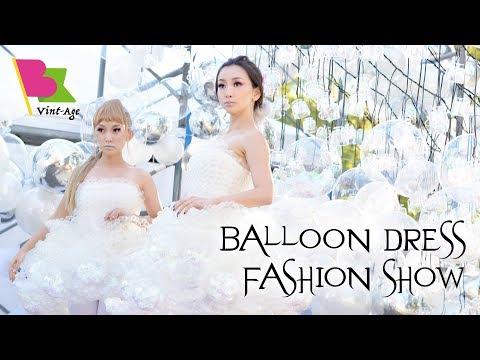 Balloon Dress fashion show @BE Vint-Age 2017