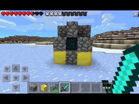 Minecraft PE Nether Portal