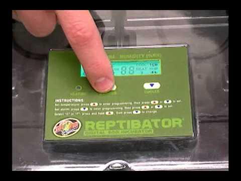 Zoo Med Reptibator Reptile Incubator - The Best Digital Incubator