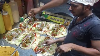 Egg Chicken Roll | Street Food in Delhi Sadar Bazar
