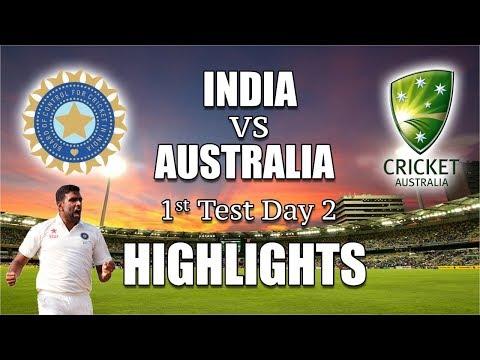 రసవత్తరంగా మారిన పోరు |India vs Australia 1st Day 2 Highlights| Eagle Media Works