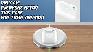 How to Wireless Charge Your AirPods//  NeotrixQI Wireless Charging Case