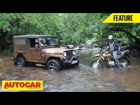 Offroad Battle - Mahindra Thar Vs Hero Impulse | Feature | Autocar India