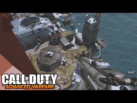 COD AW Glitches - Out of the Map on Defender! Fully Out of Map Glitch (AW Glitches)