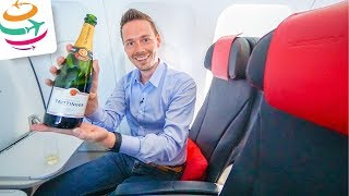 Air France Business Class A321 | GlobalTraveler.TV