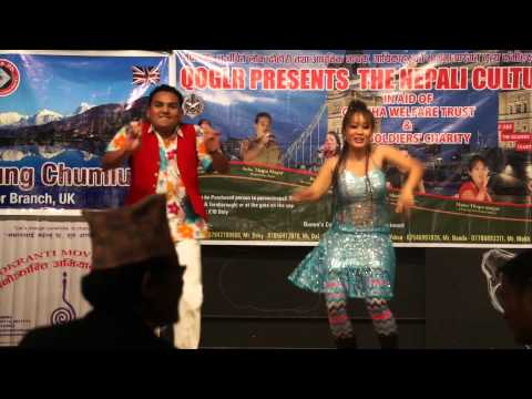 Simple Simple Kanchi Ko Dimple, Dance (Gita Rai And Shankar BC)