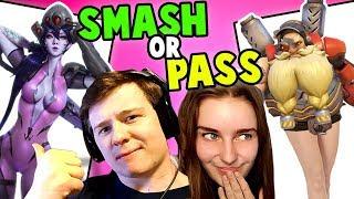 SMASH OR PASS CHALLENGE: Overwatch Edition!