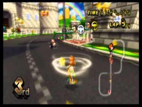 Let's Play Mario Kart Wii Wi - Fi/Online Racing! 03: Training Wheels