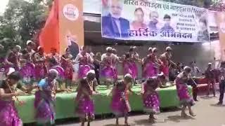 करमा गीत :- (लगभग 23000 लोगों द्वारा करमा नृत्य- विश्व रिकार्ड की यादें)