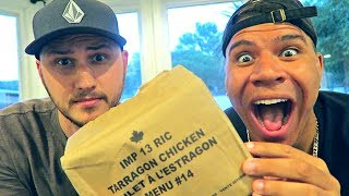 Testing Canadian Military MRE (Meal Ready to Eat)