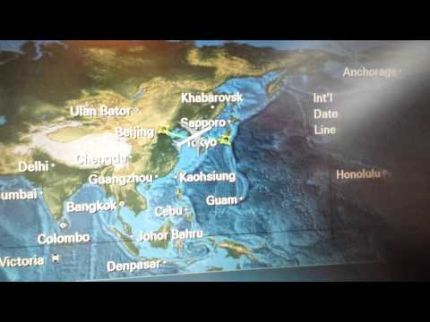 JAL Japan Airlines Dreamliner Economy Class