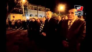 جنازة «شهيد رفح» من مسقط رأسه بطنطا بحضور المحافظ ومدير الأمن