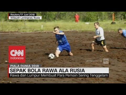 Menantang! Sepak Bola Rawa ala Rusia