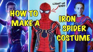 Make Your Own DIY Iron Spiderman Costume! (Avengers: Infinity War)