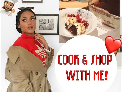 COOK WITH ME! OOTD, SHOPPING, ALCOHOL FREE TIRAMISU RECIPE!!! with Hubby