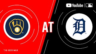 Brewers at Tigers | MLB Game of the Week Live on YouTube
