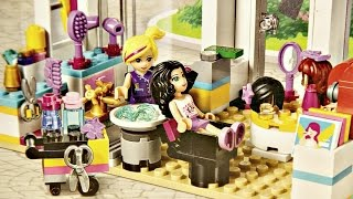 Heartlake Hair Salon / Salon Fryzjerski Heartlake - Lego Friends - 41093 - Recenzja