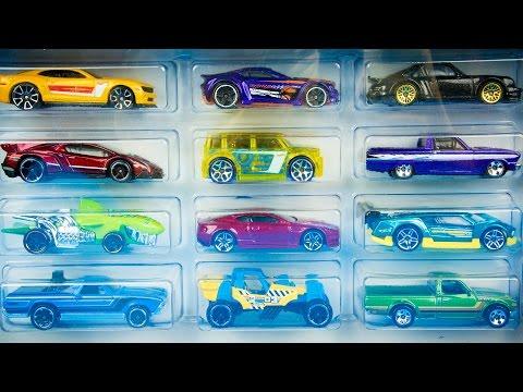 Hot Wheels HW Workshop 20 TOY CARS Part 2!