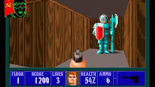 Magicolo play Wolfenstein 3D in 2018