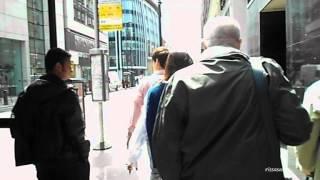 [FANCAM] 120624 4Minute Gayoon saying 'Bye' at London