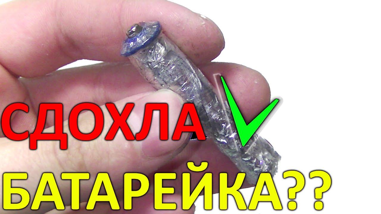 Как сделать батарейки вечными