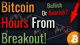 Bitcoin Hours From Breakout! Tether Not 100% USD BACKED?!