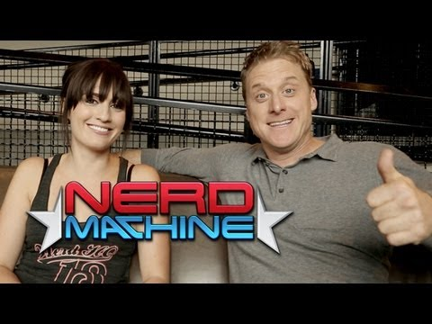 Alan Tudyk - Exclusive Interview - Nerd HQ (2013) HD - Alison Haislip