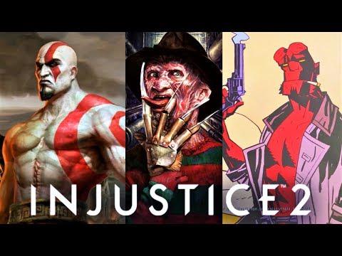 INJUSTICE 2 & Mortal Kombat - ALL Guest Characters ENDING!