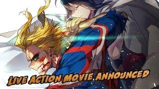 My Hero Academia Live Action Movie Announced