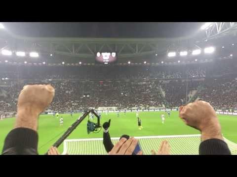 JUVENTUS 4-2 sampdoria Curva Sud: Blucerchiato pezzo di merda...mp4