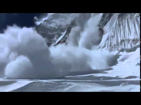 Everest April 18th 2014 Massive Avalanche Sweeps