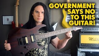 Government Regulations stopped this Guitar from being made! - Demo / Review
