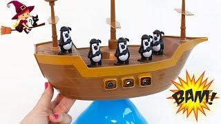 Barco Pirata que se Balancea y se Tambalea