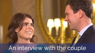 Princess Eugenie and Jack Brooksbank talk about their upcoming wedding
