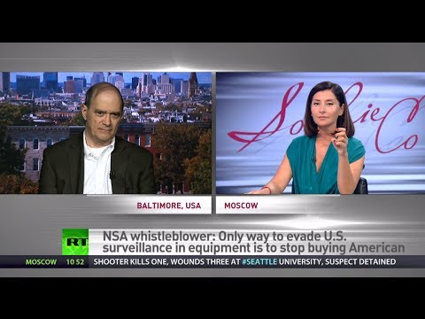 'Stasi on steroids' - Whistleblower Bill Binney on NSA's massive spy network