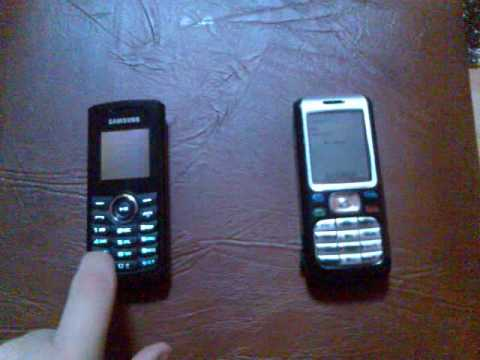 Nokia 6234 Vs  Samsung Mp3 Edition video