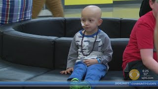 Tri-Cities boy celebrates birthday, being cancer free at Just Jump